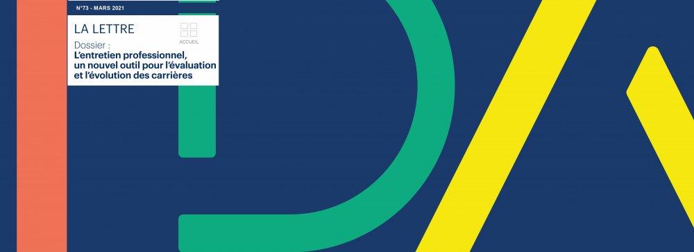 LDA N°73 - L'entretien professionnel un nouvel outil pour l'évaluation et l'évolution des carrières
