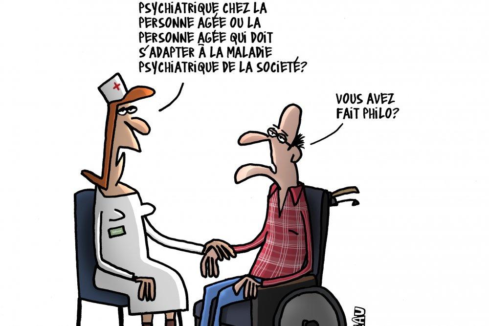 """Journée Gérontologie """"Troubles psychiatriques de la personne âgée : tous concernés !"""""""