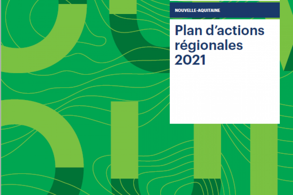 PLAN D'ACTIONS REGIONALES 2021 - NOUVELLE AQUITAINE