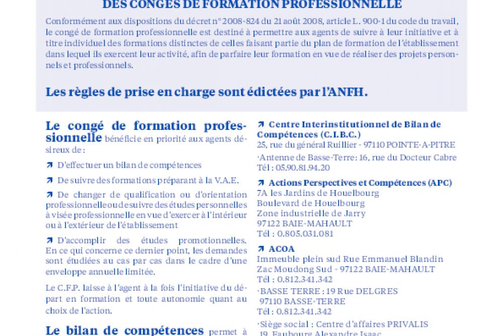 PRISE EN CHARGE DES DISPOSITIFS INDIVIDUELS DE FORMATION PROFESSIONNELLE 2020