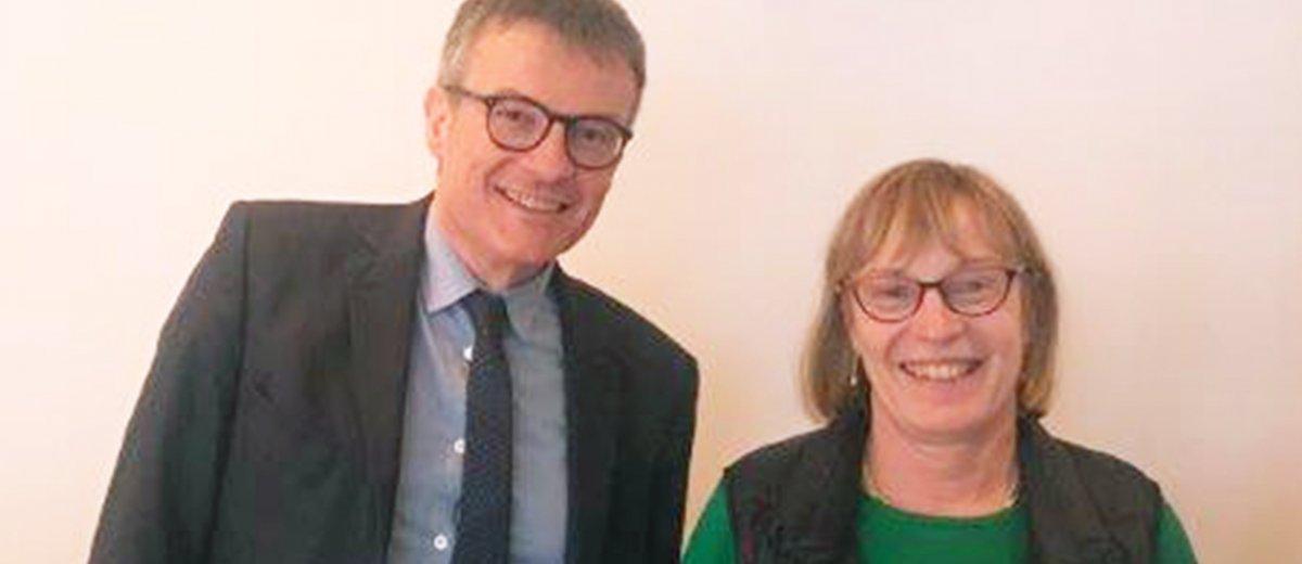 Carole Poupon élue présidente du CDPCMH de l'ANFH