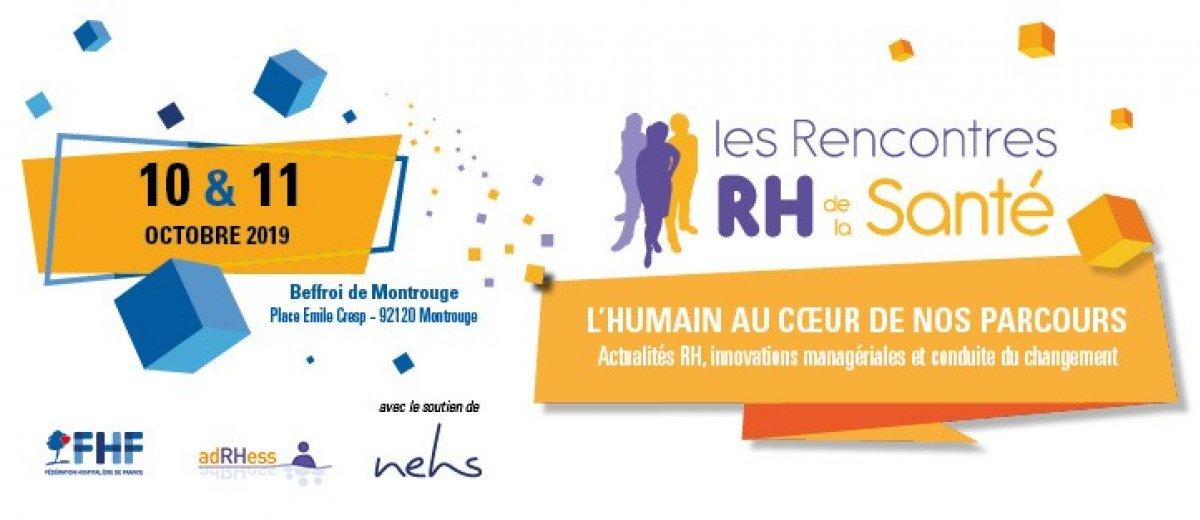 """8ème édition des rencontres RH de la santé """"L'humain au coeur de nos parcours"""""""