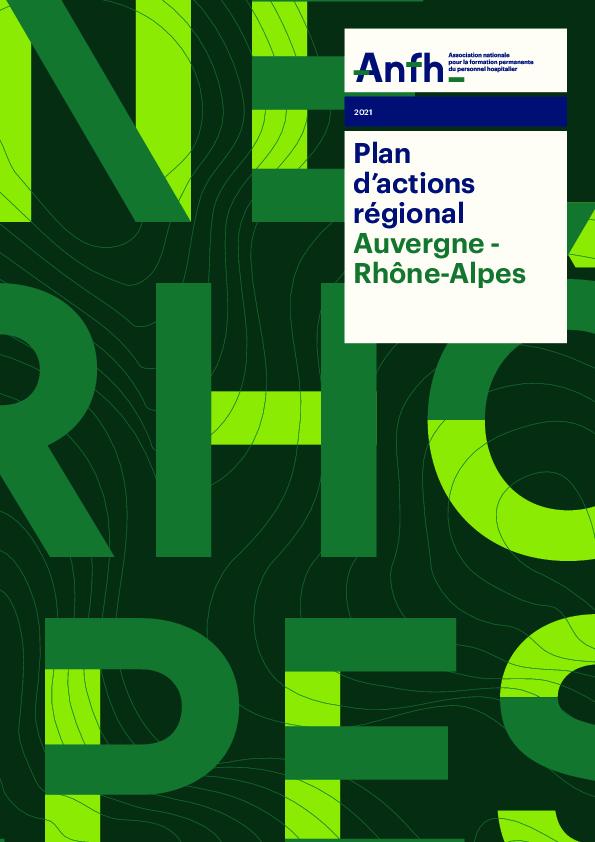 Plan d'actions régionales 2021 - AURA