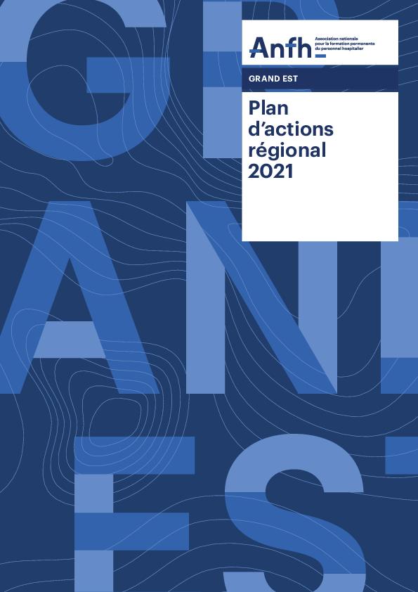 Plan d'actions régionales 2021 - Grand-Est