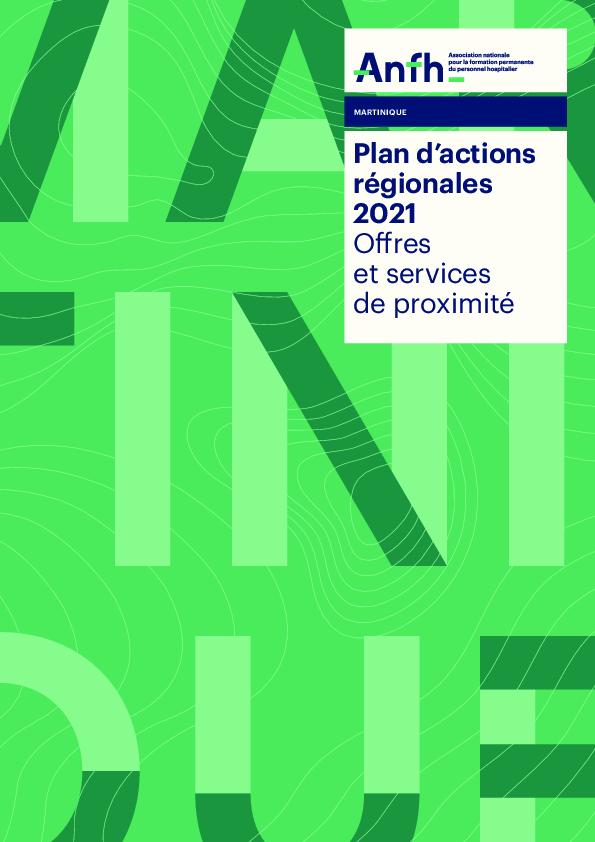 Plan d'Actions Régionales Martinique 2021