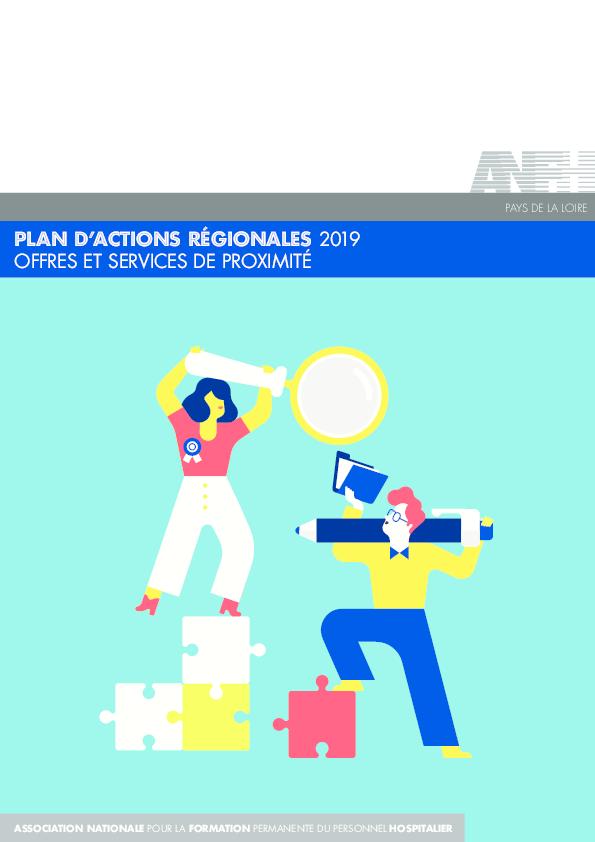 PLAN D'ACTIONS REGIONALES 2019 - PAYS DE LA LOIRE
