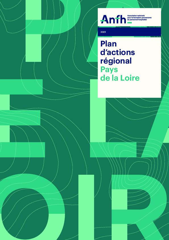 Plan d'actions régionales 2021 - Pays de la Loire