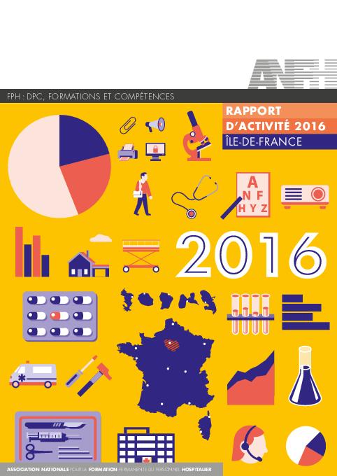Rapport d'activité 2016 Ile de France