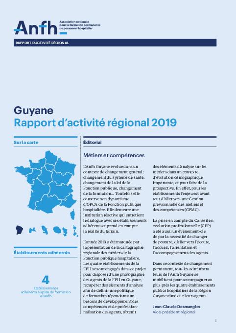 Rapport d'activité 2019 - Guyane