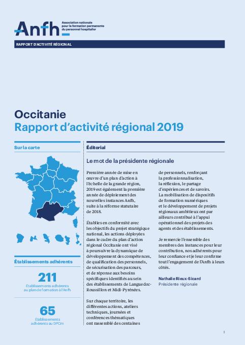 Rapport d'activité 2019 - Occitanie