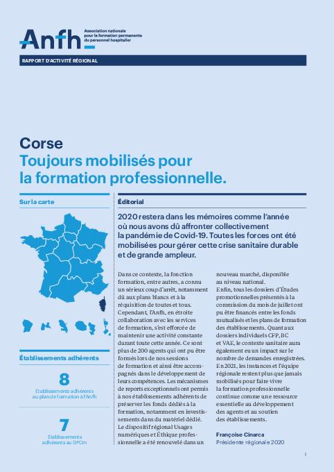 Rapport d'activité 2020 - Corse