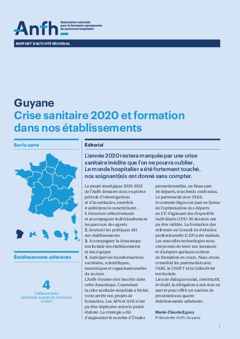 Rapport d'activité 2020 - Guyane