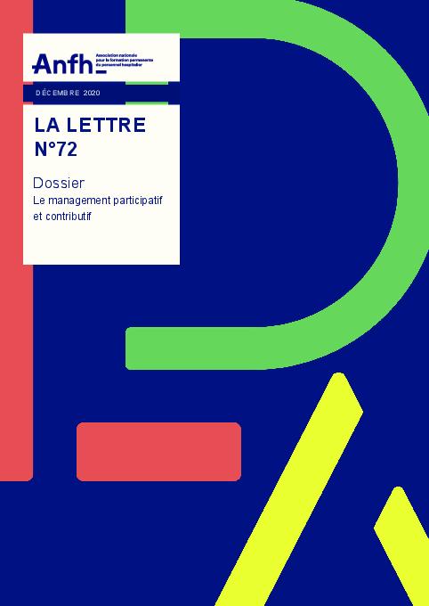 LA LETTRE DE L'ANFH N°72