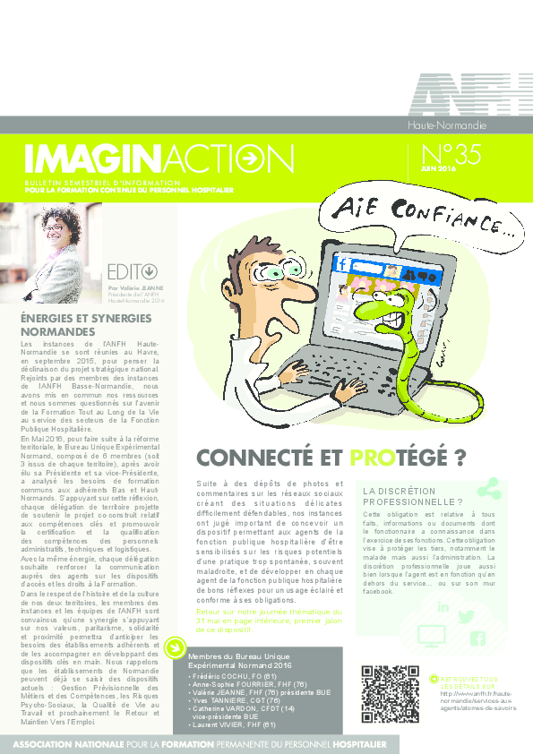 Journal Imagin'actions- juin 2016