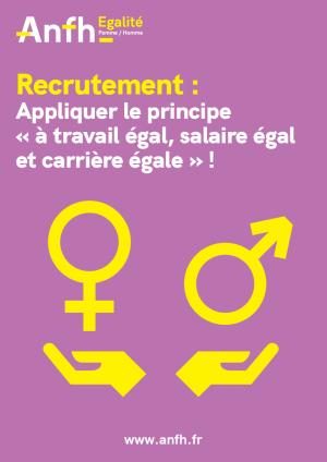 Égalité homme / femme - recrutement