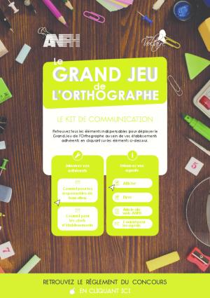 Kit de com Grand jeu  Voltaire pour Responsables Formation CORSE