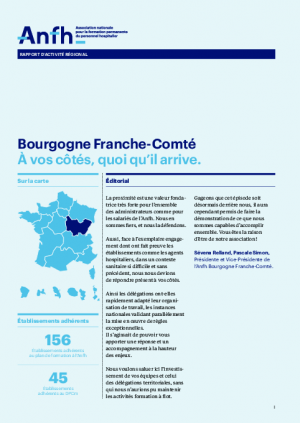 Rapport d'activité 2020 - Bourgogne / Franche-Comté