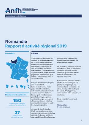 Rapport d'activité 2019 - Normandie
