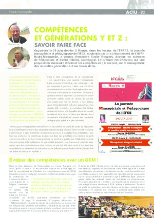 #2 - COMPÉTENCE ET GÉNÉRATION Y - Z