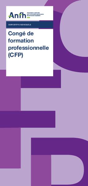 le CFP (Congé de Formation Professionnelle) - Dépliant