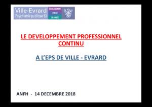 DPC Ville Evrard