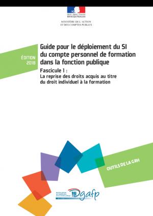 Guide sur la reprise des droits acquis au titre du droit individuel à la formation pour le CPF