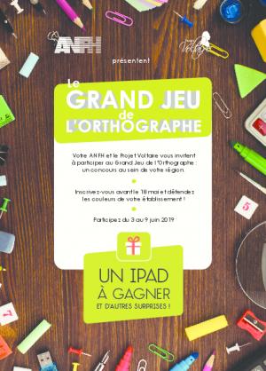 Flyer Grand jeu Voltaire Corse