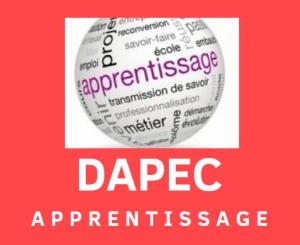 DAPEC APPRENTISSAGE