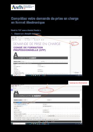 Guide saisie dossier en format électronique