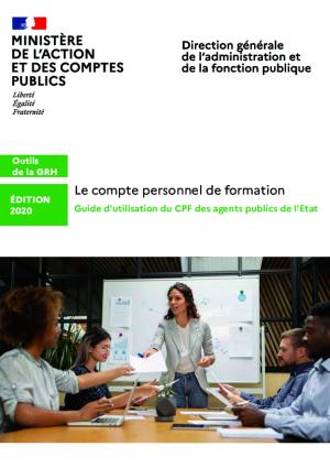 Guide d'utilisation du CPF des agents publics de l'Etat (Edition 2020)