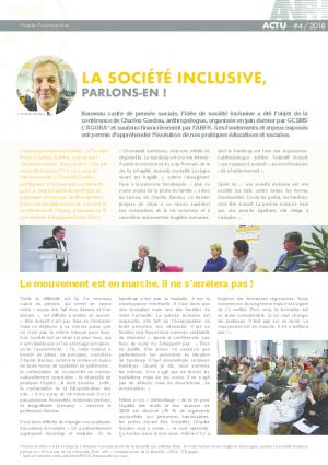#4 - LA SOCIÉTÉ INCLUSIVE
