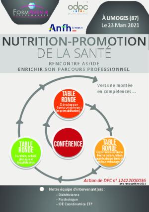 Programme nutrition et promotion de la santé