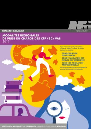 Modalités régionales de prise en charge des CFP / BC / VAE Normandie 2019