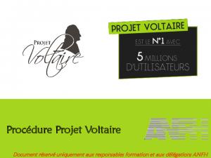 PROCÉDURES INSCRIPTION VOLTAIRE