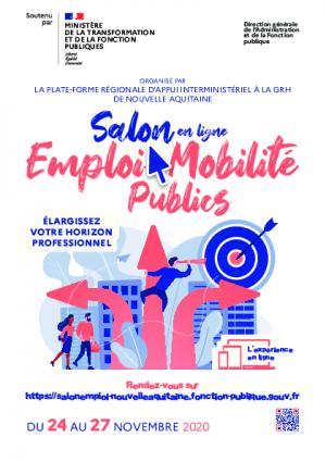 Flyer - Salon Emploi Mobilité Publics