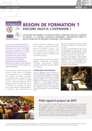 #3 - FAIRE ÉMERGER LES BESOINS DE FORMATION DE SON ÉQUIPE