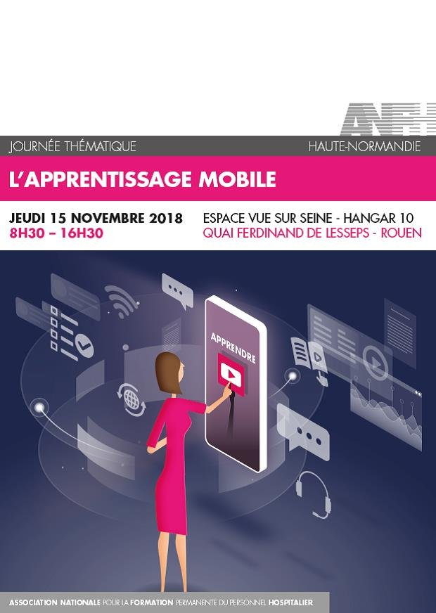 Affiche apprentissage mobile