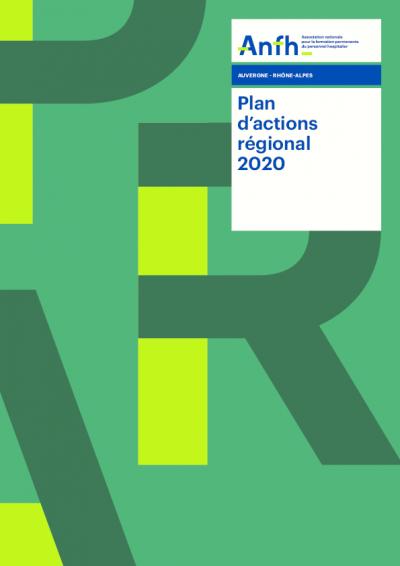 Plan d'actions régionales 2020 - Auvergne-Rhône-Alpes