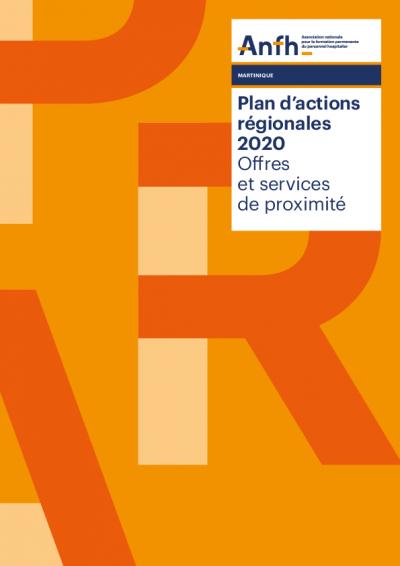 Plan d'actions régionales Martinique 2020