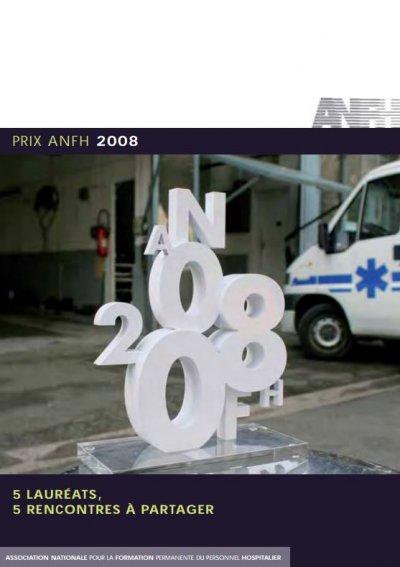 Prix ANFH 2008