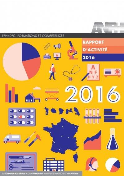 Rapport d'activité ANFH 2016