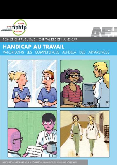 Dépliant et affiches - Handicap au travail valorisons les compétences au-delà des apparences
