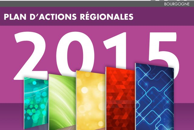 PLAN D'ACTIONS REGIONALES 2015