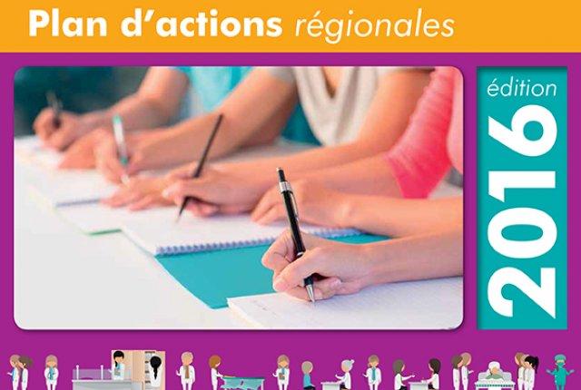 Plan d'Actions Régional 2016 - ANFH Lorraine