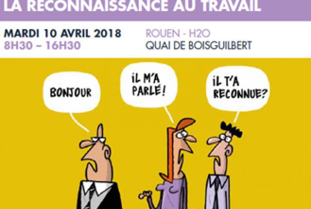 RECONNAISSANCE AU TRAVAIL