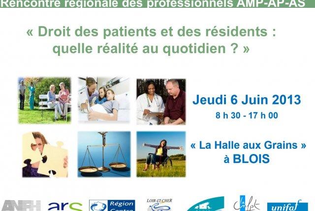06/06/2013 : 3ème RENCONTRE REGIONALE AMP-AP-AS