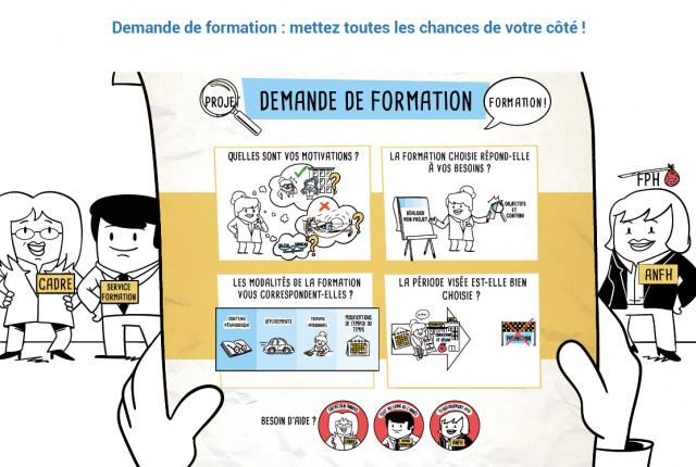 VIDEO EXPLIQUANT COMMENT BIEN FORMULER SA DEMANDE DE FORMATION