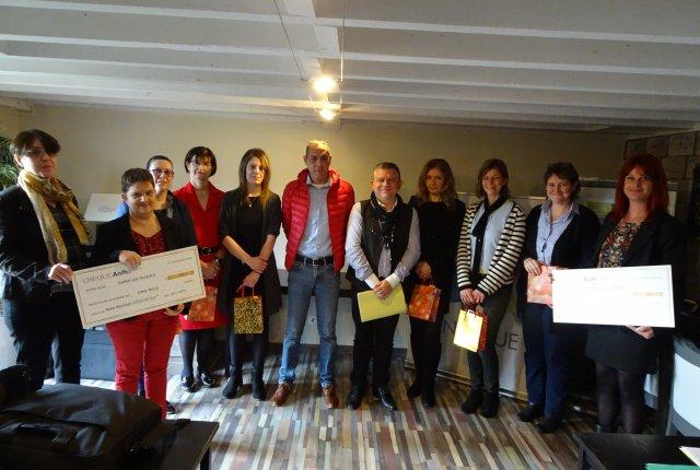 L'ANFH Picardie remet les prix du Grand jeux de l'orthographe 2019