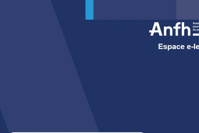 L'ANFH lance une nouvelle plateforme de formation à distance nommée e-formations