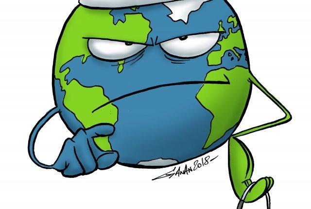Soigner les terriens: sauver la planète